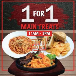 [Gelare Café] Everyone loves 1 for 1 deal!