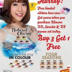 [Eyecare Studio Optometrist] Blincon Color Lens Promotion!