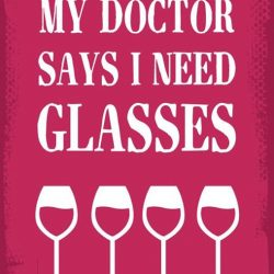 [DISTRICT 10 BAR TAPAS RESTAURANT] We should heed what the doctor said- we need more glasses.