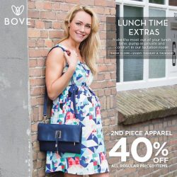 [Spring Maternity] tgitEvery Tuesday and Thursday, Mums can pump in Bove during lunch and also enjoy special deals up to 40%