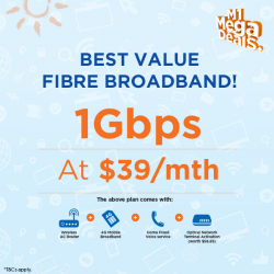 [M1] Sign up for the best value Fibre Broadband plan at just $39/mth!