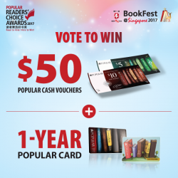 [POPULAR Bookstore] Support your favourite authors by voting for your favourite book titles in the POPULAR Readers' Choice Awards!