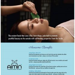 [Aimin Acupuncture & Weight Loss Centre] Try Out our Facial Gua Sha today!