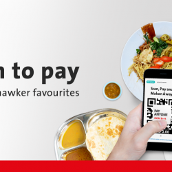 [OCBC ATM] Enjoy S$5 cashback on your hawker favourites when you scan and pay using QR code via the OCBC Pay