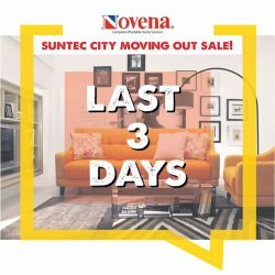 [Novena] FINAL 3 Days of our Moving Out Sale at Suntec City!