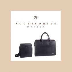 [Goldlion] 50% off selected Accessories, applicable with minimum purchase of $50 nett on any items.