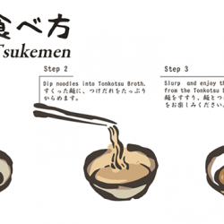 "[MENYA MUSASHI] Tsukemen つけ麺, aka ""dipping ramen"" are eaten after being dipped in a separate bowl of broth."
