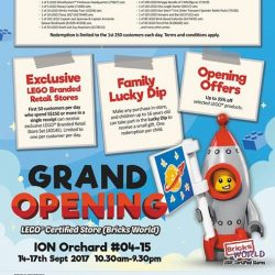 [Bricks World (LEGO Exclusive)] Grand Opening of our LEGO® Certified Flagship StoreWhen: 14-17th September, 10.