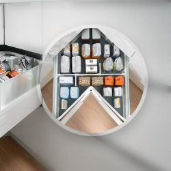 [Blum & Co] Enhance storage spaces with SPACE CORNER.