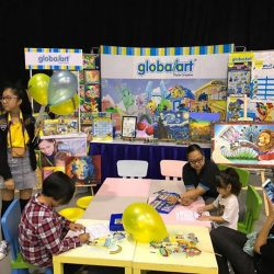 [Global Art Kallang] Global Art partner & sponsor with explorer kids for 16/9 & 17/9 Baby & Junior Fiesta 2017 at Downtown East!