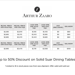[Arthur Zaaro] Discount Price List