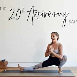 [Fit N Fab] Join us as we celebrate Manduka's 20th year anniversary this weekend!