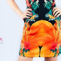 [Rose Of Sharon] Lilies With Parrot DressS$95.
