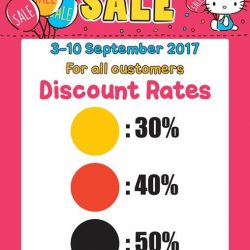 [Sanrio Gift Gate] Special buys open for all to purchase at a special deal!