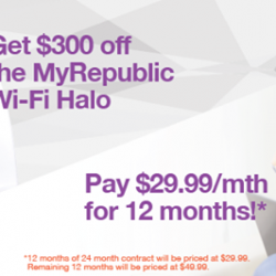 """[Mr Shop/My Republic] Only a few days left to enjoy our awesome """"Deals of the Month""""✨Enjoy $300 off any router of your"""