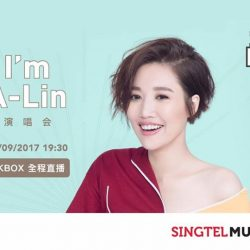 [Singtel] KKBOX Premium Users Exclusive - Catch the LIVE streaming of Taiwanese Diva A-Lin's <I> concert on