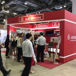[Ariston] Another year of great success as Ariston returns for The Mostra Convegno Expocomfort Asia this year!