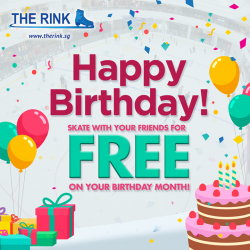 [THE RINK] Add a special touch to your birthday this September and have a fantastic time with us here at The Rink