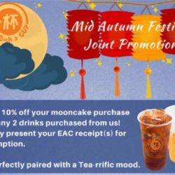 [Each A Cup] Mid Autumn Festival Joint Promotion is here with our special collaboration with 2 partners.