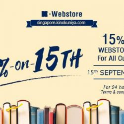 [Books Kinokuniya] 24 hours only promotion!