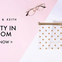 [Charles & Keith] CHARLESKEITH_ONLINE PROMOTION: Receive an exclusive cosmetic pouch with minimum purchase.