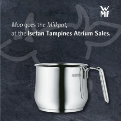 [WMF] Milk has many uses, so does our Milkpot!
