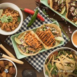 [foodpanda] Celebrate Guacamole Day in the best way - Lucha Loco is offering free delivery on all orders above $30 and bundles
