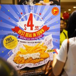 [The Manhattan FISH MARKET Singapore] Will you be the first in queue for the Best Deal in Town this Sunday?