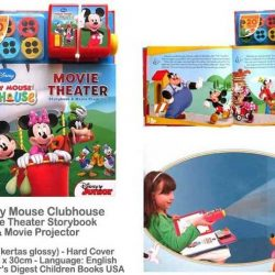[Junior Page] Disney Mickey Mouse Clubhouse: Movie Theater Storybook & Movie Projector$20.