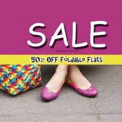 [Gripz] Our foldable flats are on 50% Sale!