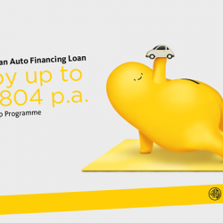 [Maybank ATM] Zoom away in a new car with Maybank Auto Financing Loan and be on your way to earning up to