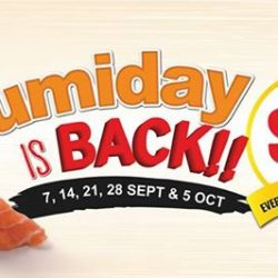 [UMISUSHI Singapore] umiday STARTS TODAY!