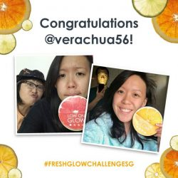[Fresh] Congratulations to our 1st weekly FreshGlowChallengeSG winners, @lillychews and @verachua56, for an inspiring glow journey!