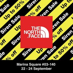 [The North Face] LAST DAY of Siren Sale at Marina Square, up to 50% storewide!