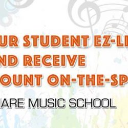 [Sonare Music School] Don't forget our awesome promotion that's only for students.