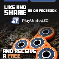[Play United] We are giving away *free fidget spinners just by simply liking our page and sharing!