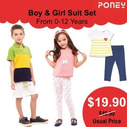 [PONEY enfants] 2 pieces in 1 start from $19.