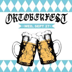[The Chop House] The annual fall classic of fun and beer returns with our Oktoberfest Party at I12Katong TONIGHT!
