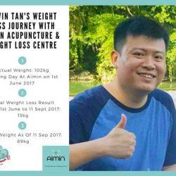 [Aimin Acupuncture & Weight Loss Centre] Let's hear Edwin Tan's testimonial at http://www.