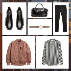 [H&M] The ideal men's wardrobe is full of stylish outerwear and autumn essentials.