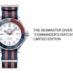 "[All Watches] Inspired by Bond's rank and regalia, OMEGA has created the ""Commander's Watch""."
