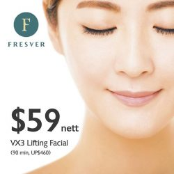 [FRESVER BEAUTY] Fresver's VX3 facial is excellent for skin lifting and and tightening for that perfect V shape face!