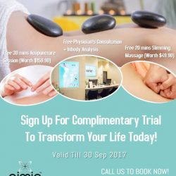 [Aimin Acupuncture & Weight Loss Centre] Enjoy Complimentary Trial: Get Free Physician's Consultation + Inbody Analysis + Free 30 mins Acupuncture Session (Worth$159.