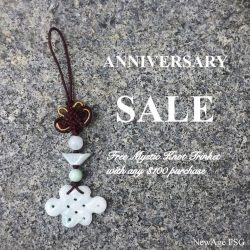 [New Age FSG] Our Anniversary Sale starts today!