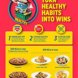 [Pizza Hut Singapore] We're here to help you pas-ta Health Promotion Board, Singapore, Singapore's Eat, Drink, Shop Healthy Challenge!