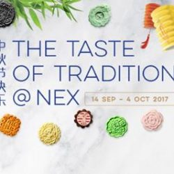 [NEX] Have a taste of tradition at NEX from 14 Sep to 4 Oct!