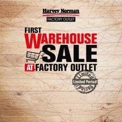 [Harvey Norman] Did you guess why factory outlet prices are possible at HarveyNormanSG Factory Outlet?