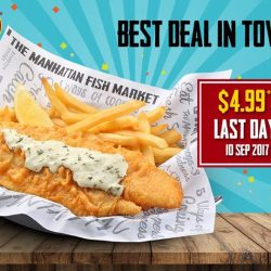 [The Manhattan FISH MARKET Singapore] This is your last chance to enjoy the Best Deal in Town!