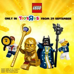 [LEGO] Global Limited Edition LEGO Minifigures and Pop-up Display FREE with just $60 LEGO purchase for each.
