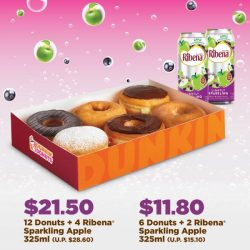 [Dunkin' Donuts Singapore] Dunkin' Donuts with a side of vitamin C?